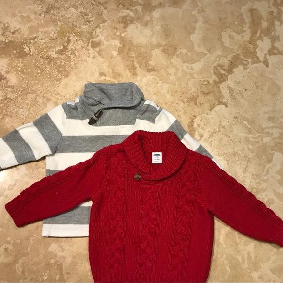 Old Navy Shirts Tops Two Size 1218 Months Boys Sweaters Poshmark